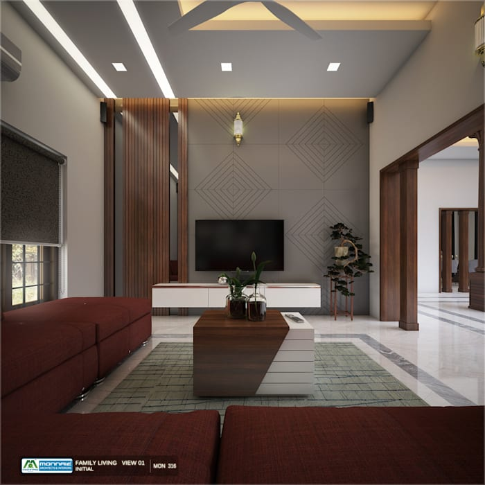 Beautiful interior designs Modern dining room by Monnaie Interiors Pvt Ltd Modern