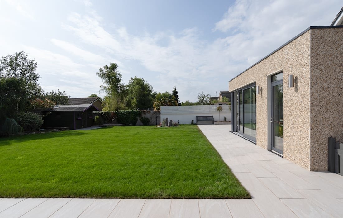 Contemporary Extension Project Photography Hackett Visuals Classic style conservatory Bricks Amber/Gold