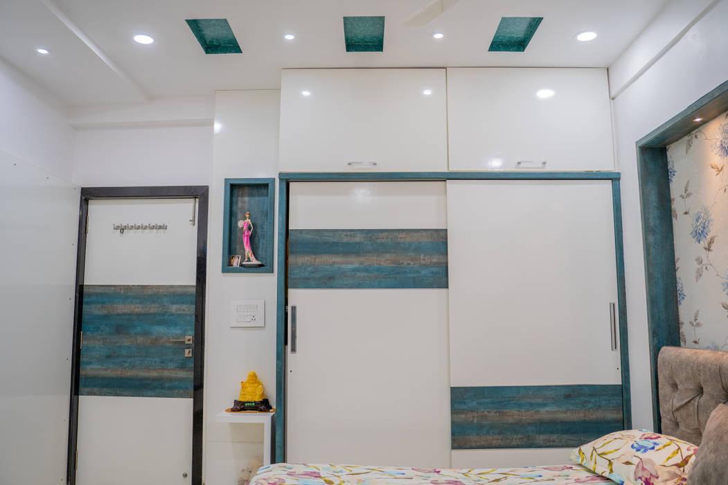 Stylish Bedroom Design by Nabh Design & Associates by Nabh Design & Associates Modern Plywood