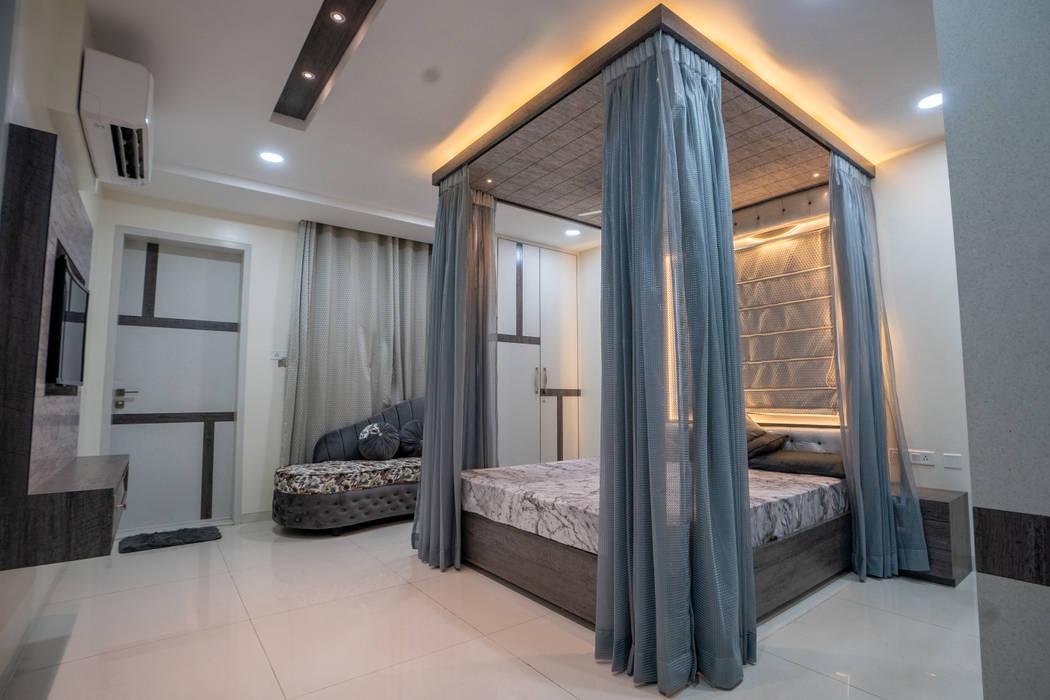de Nabh Design & Associates Moderno Derivados de madera Transparente