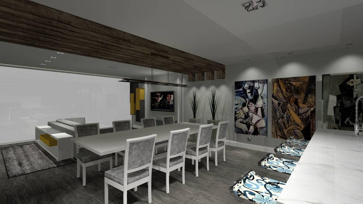 Comedores de estilo moderno de Arch Design Concept Moderno Madera Acabado en madera