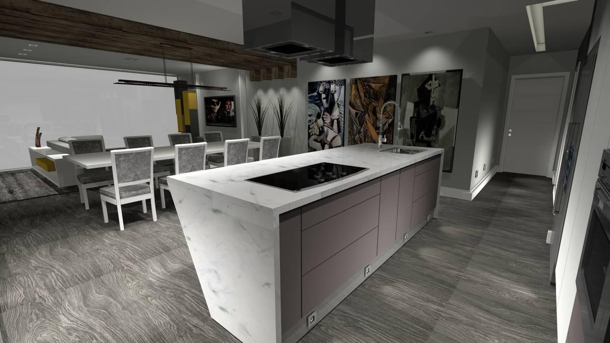 Oleh Arch Design Concept Modern Kayu Wood effect