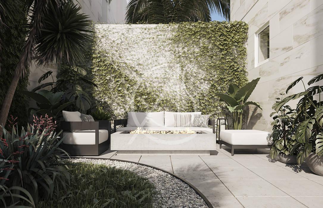 Vacation Compound Design Taman Modern Oleh Comelite Architecture, Structure and Interior Design Modern