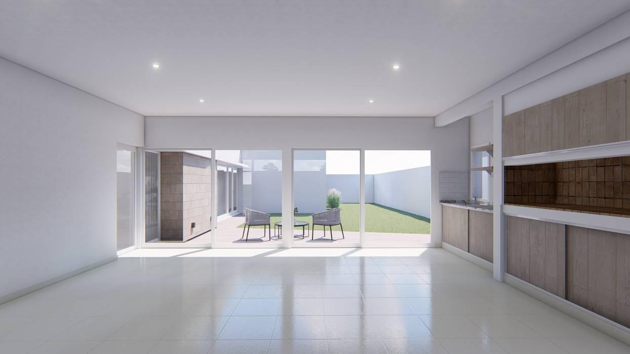 Garage / Hangar minimalistes par ARBOL Arquitectos Minimaliste