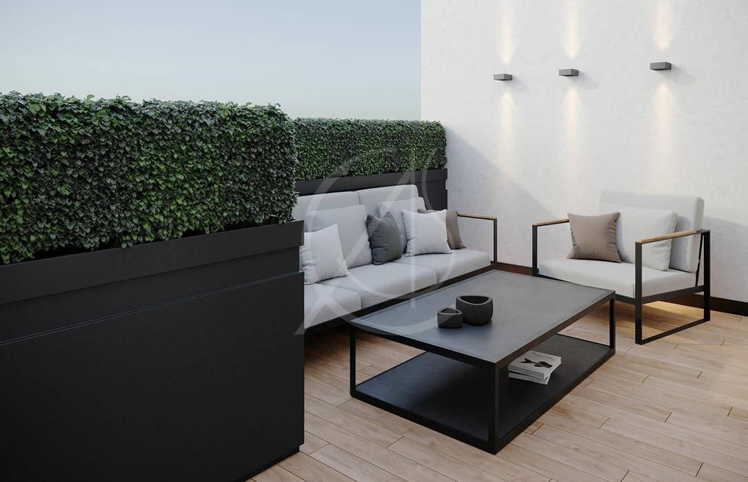 Small Apartment Renovation de Comelite Architecture, Structure and Interior Design Moderno