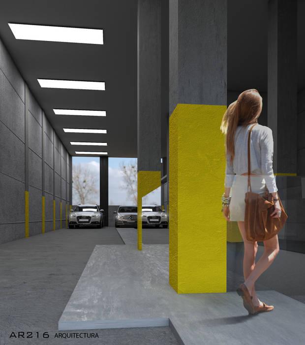 Proyecto residencial Palmira interior de AR216 Industrial Concreto