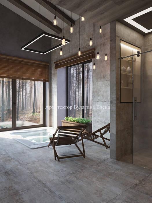 Pasillos, vestíbulos y escaleras de estilo ecléctico de Архитектурное Бюро 'Капитель' Ecléctico Cerámico