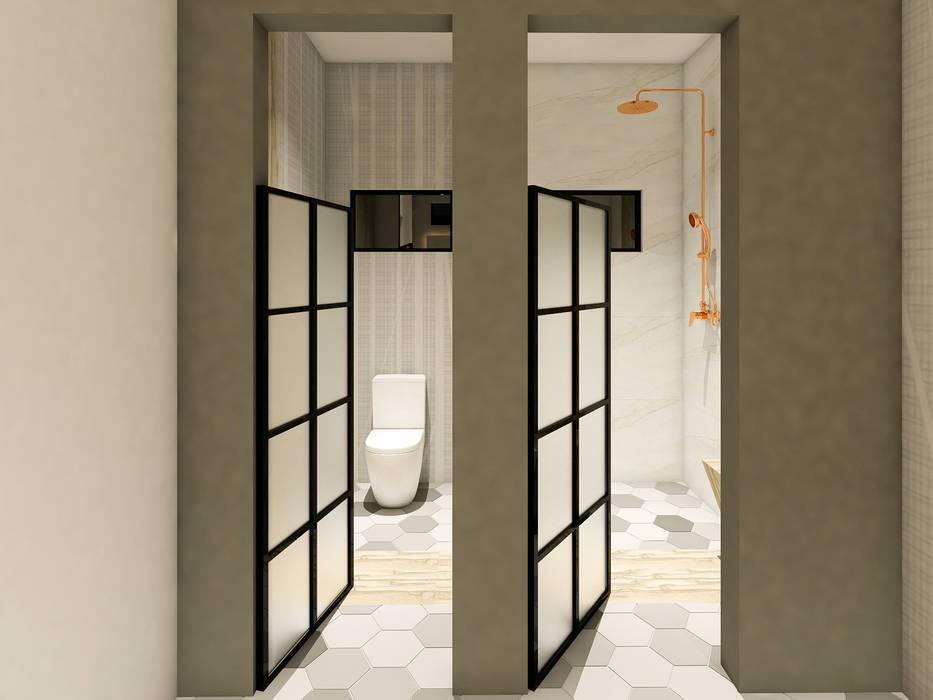 Toilet / Regadera Baños industriales de A.DESIGN Industrial