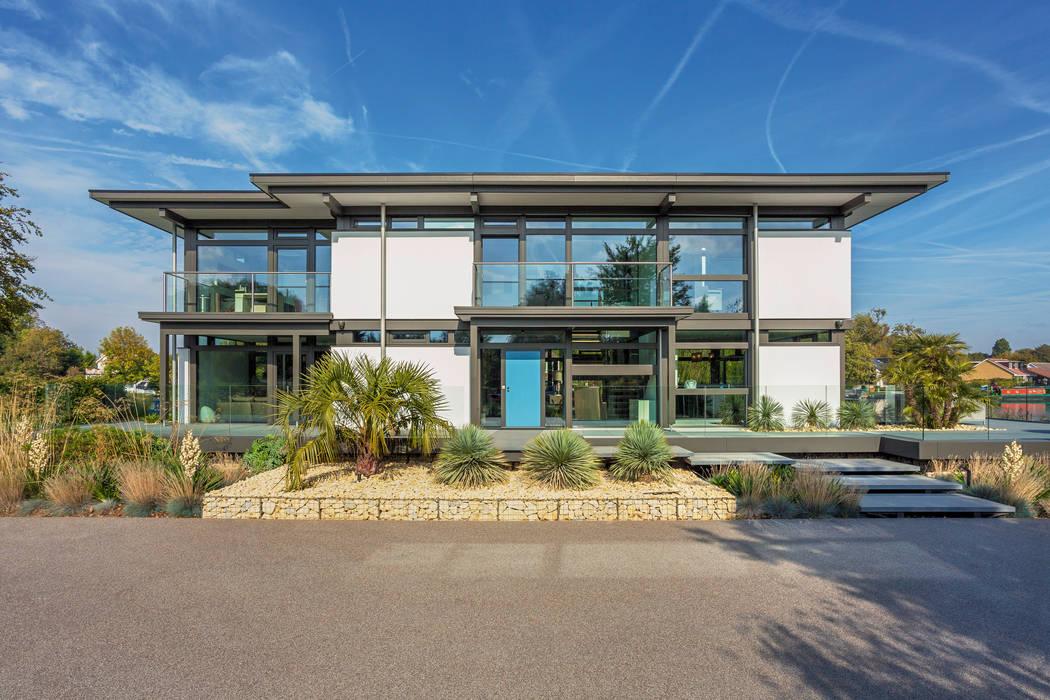 HUF Haus MODUM Flachdach Moderne Häuser von HUF HAUS GmbH u. Co. KG Modern