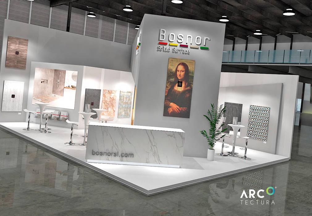 Idéobain Salones de eventos de estilo moderno de Bosnor, S.L. Moderno