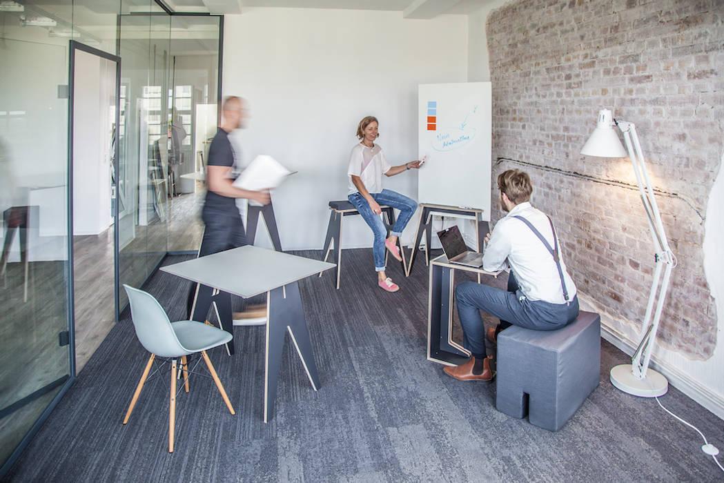 Gedung perkantoran oleh if5-design GmbH, Industrial