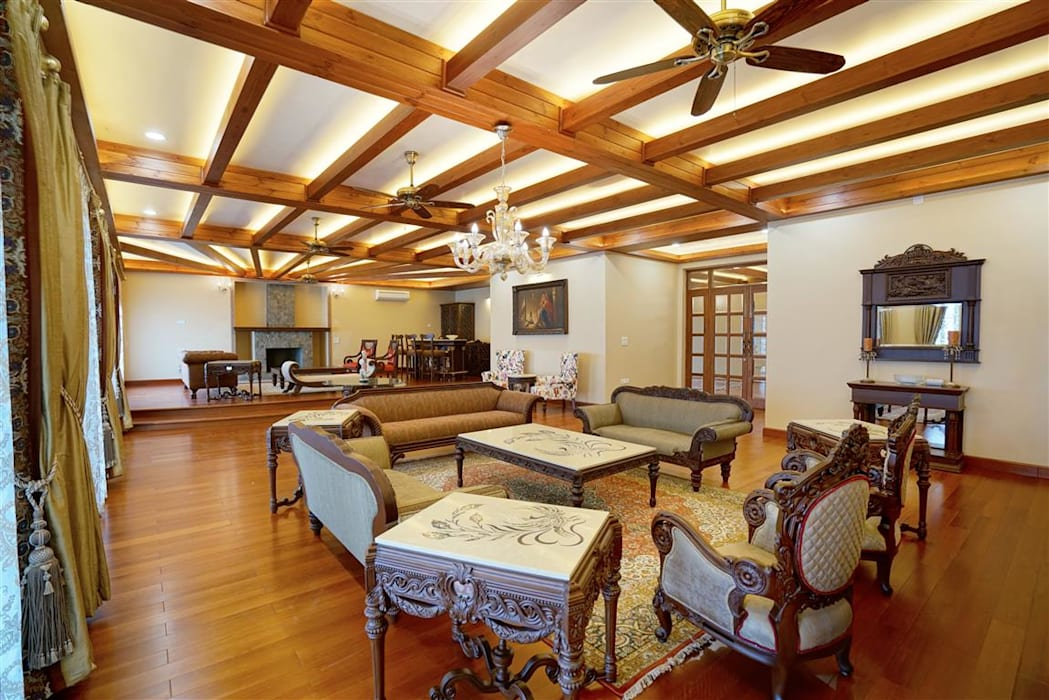 Luxury Interior Design by VIRTUS SPACES PRIVATE LIMITED