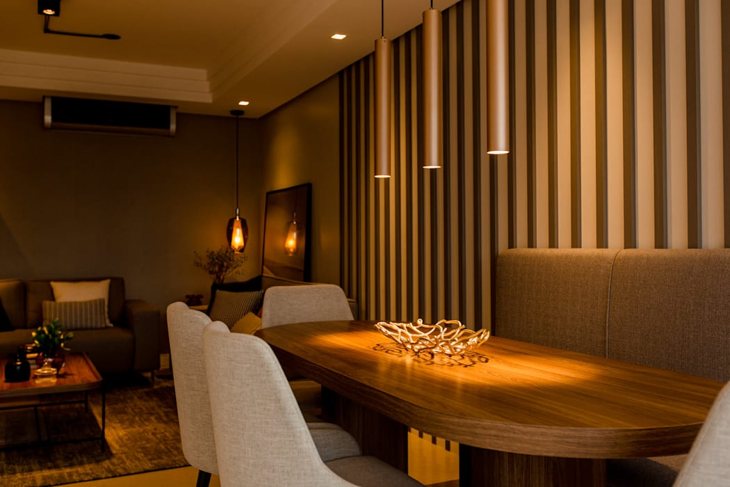 Modern Dining Room by ZOMA Arquitetura Modern