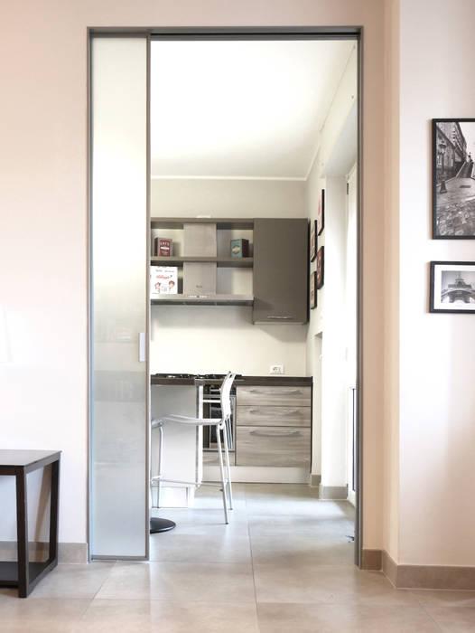 Ruang Penyimpanan Wine/Anggur Modern Oleh studio di progettazione architetto caterina martini Modern