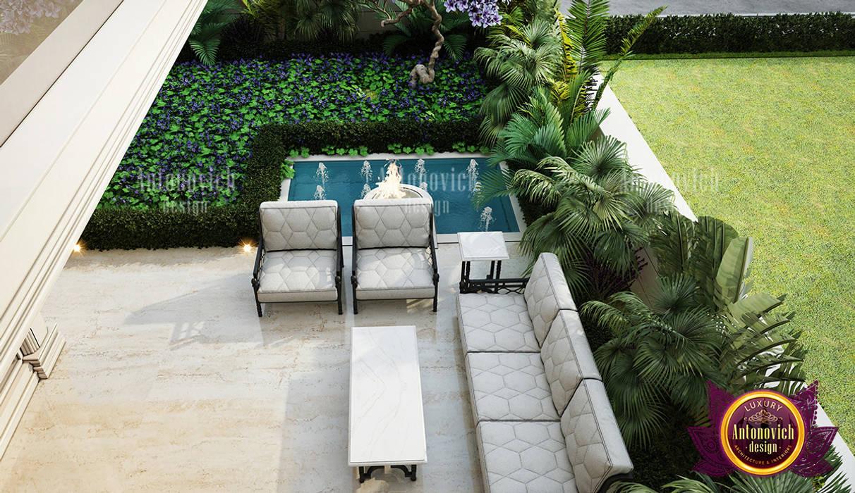 Modern Luxurious Exterior Design by Luxury Antonovich Design