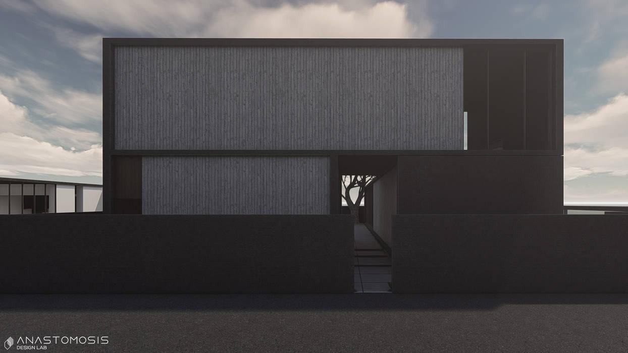 Anastomosis Design Lab Minimalist house