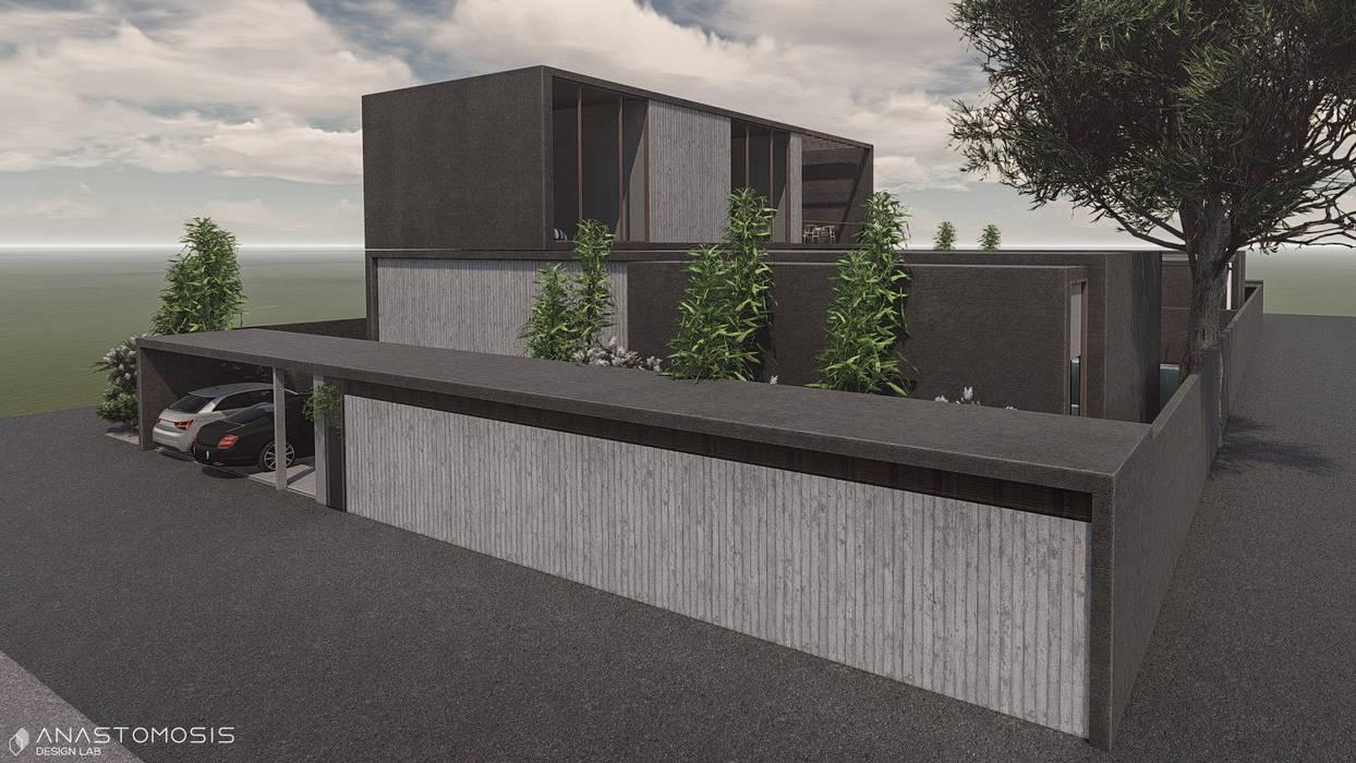 Maisons minimalistes par Anastomosis Design Lab Minimaliste