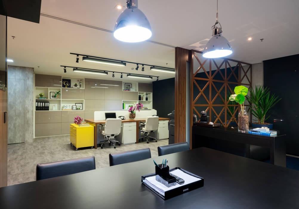 Sóbria Harmonia Studio Ideação Espaços comerciais modernos