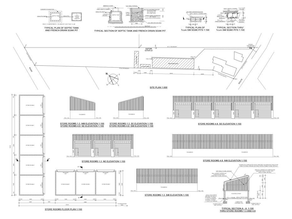 Building Plan Samples by Drawing Services