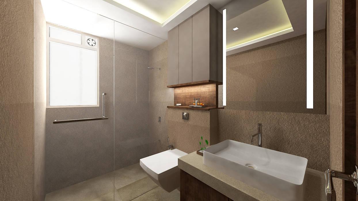 Parents Bathroom Modern bathroom by SPACE DESIGN STUDIOS Modern