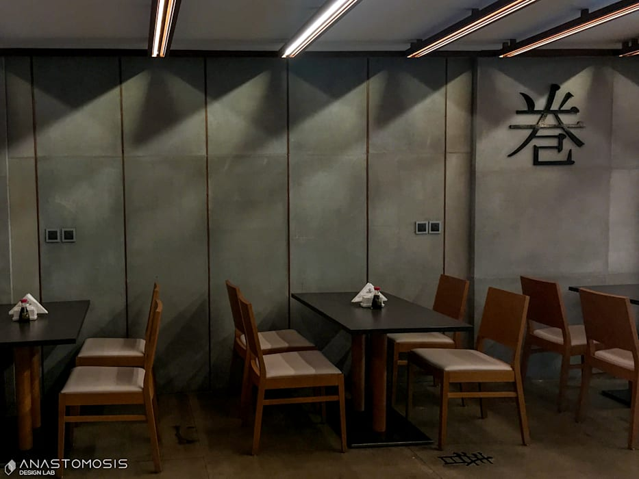Asian style gastronomy by Anastomosis Design Lab Asian