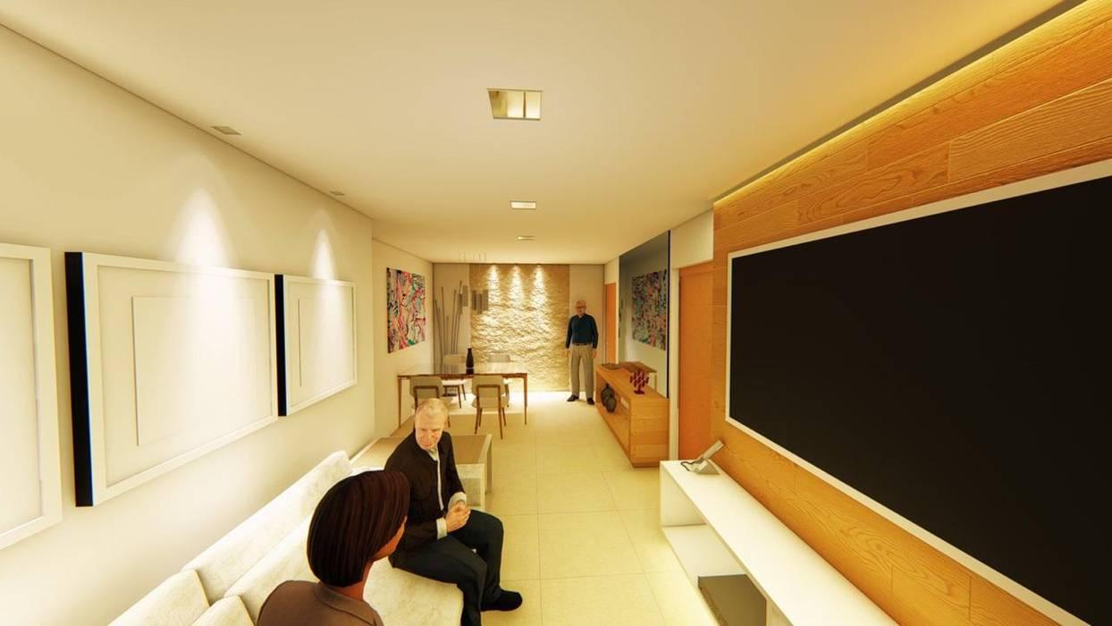 Modern Living Room by Outline Arquitetura Modern