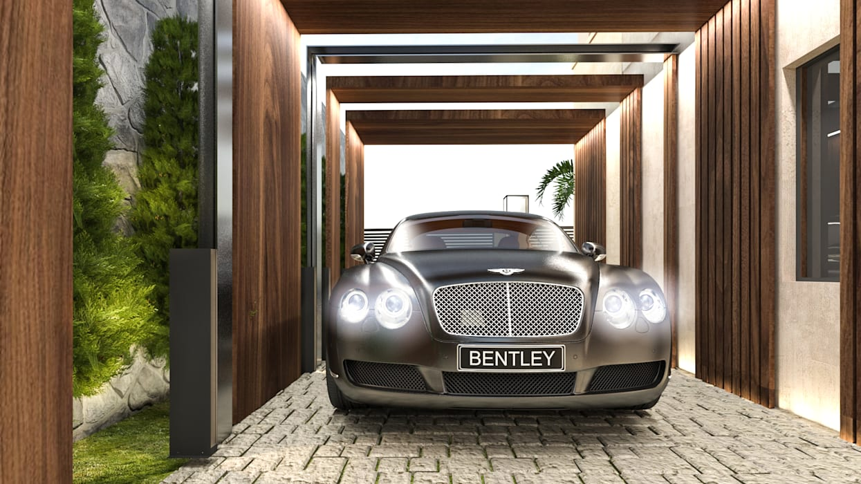 Private parking:  Carport by Saif Mourad Creations, Modern