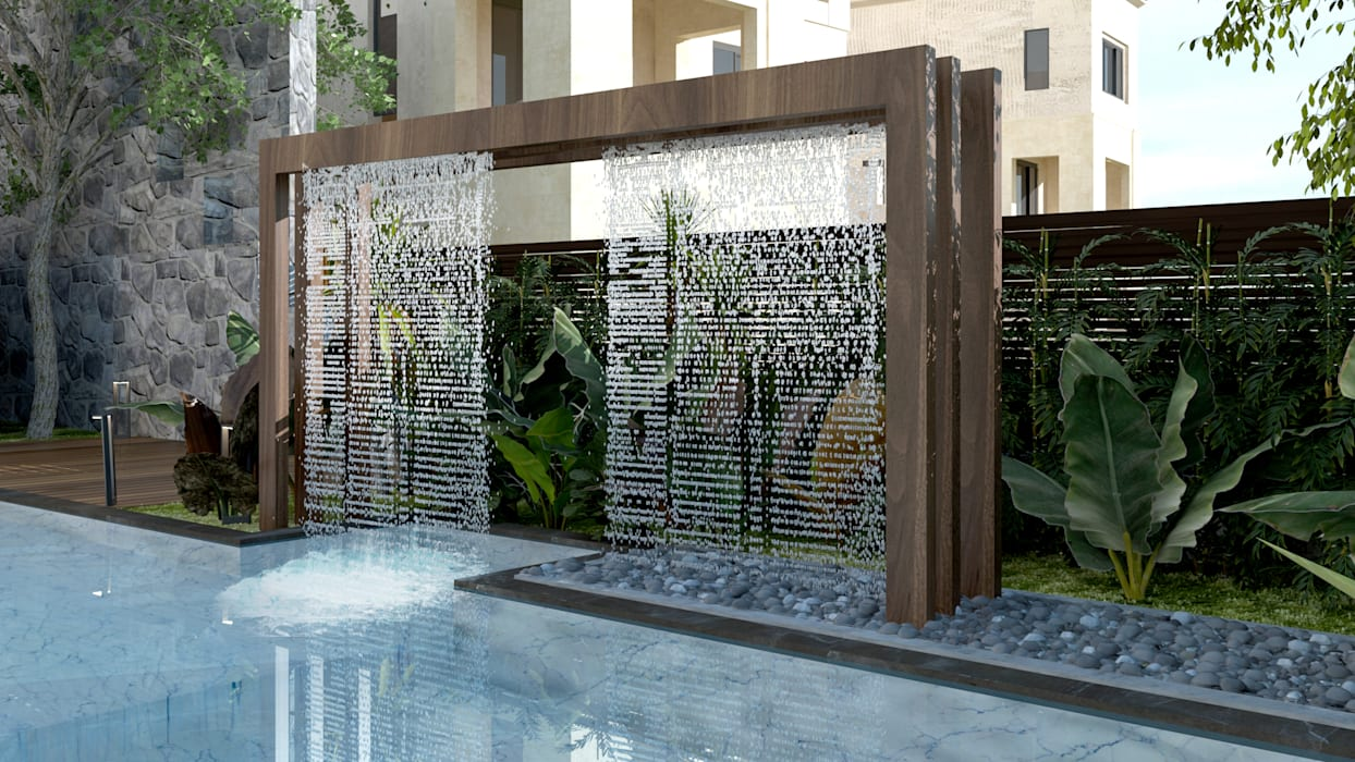 Water element by Saif Mourad Creations Modern
