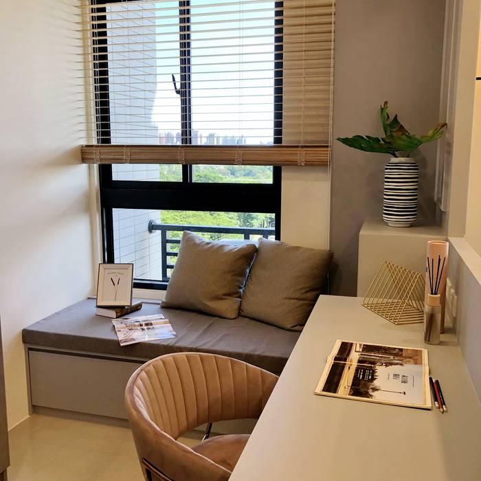 蓮潭序 Classic style study/office by 雅群空間設計 Classic