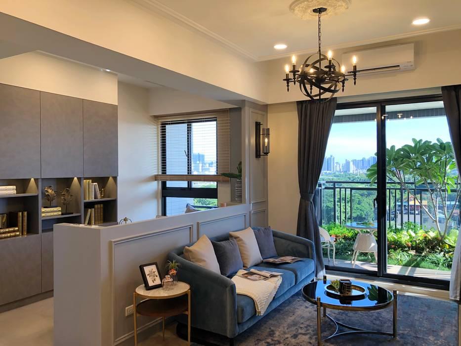 蓮潭序 雅群空間設計 Living room