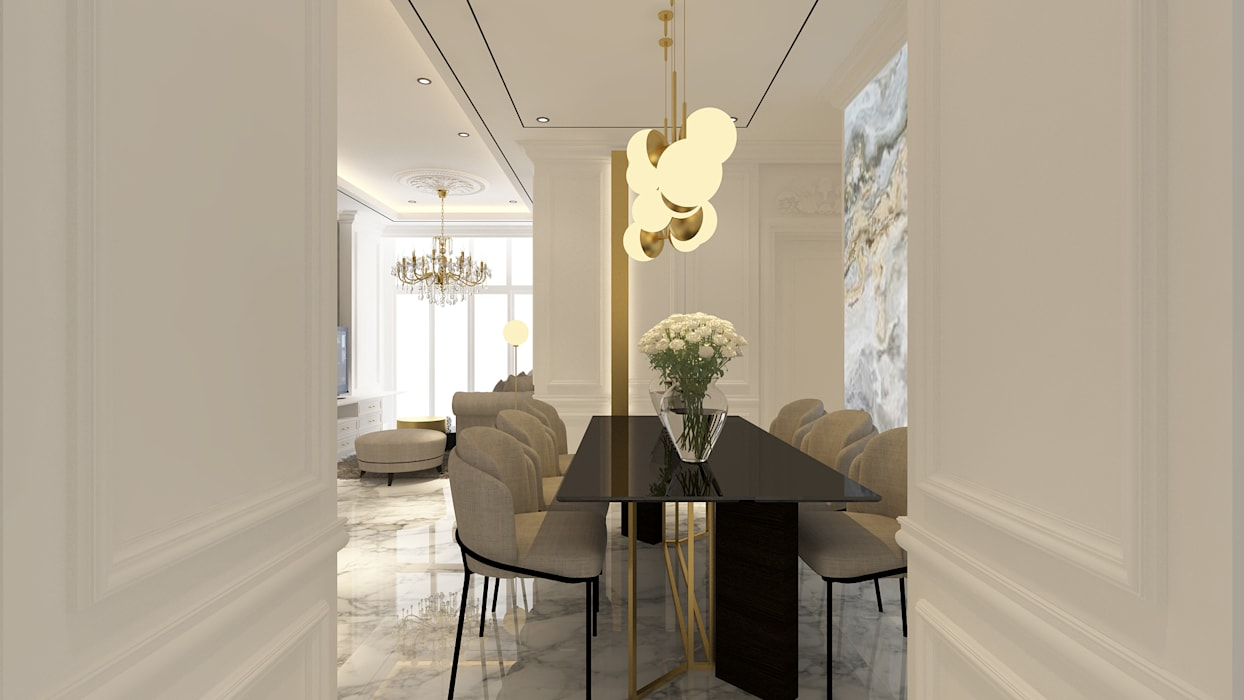 Classic style dining room by Antelope Studio Classic