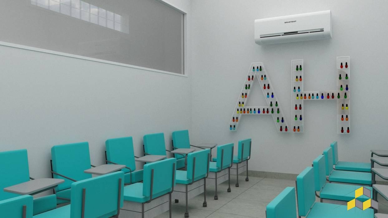 Manicure Escolas modernas por KN Arquitetura e Interiores Moderno