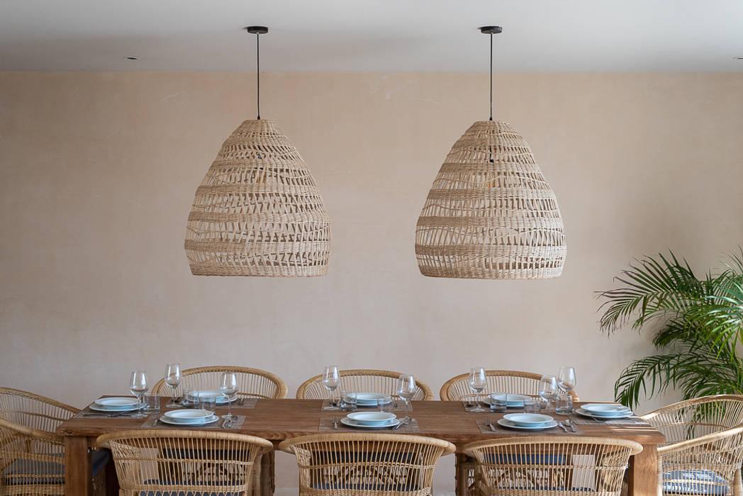ห้องทานข้าว โดย Blue Sky, ทรอปิคอล คอนกรีต