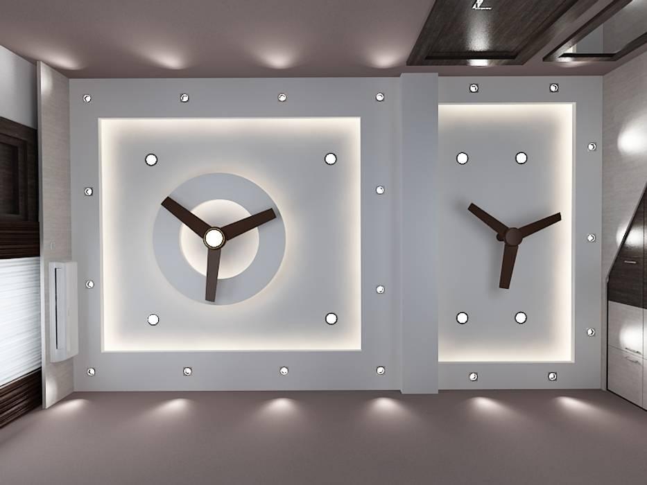 False Ceiling Modern walls & floors by Kphomes Modern
