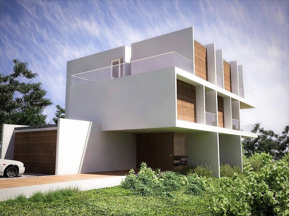 : Casas de campo de estilo  por RRA Arquitectura, Minimalista Madera Acabado en madera