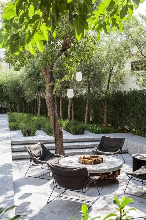 Jardin moderne par AAVE Diseño y Construcción Moderne