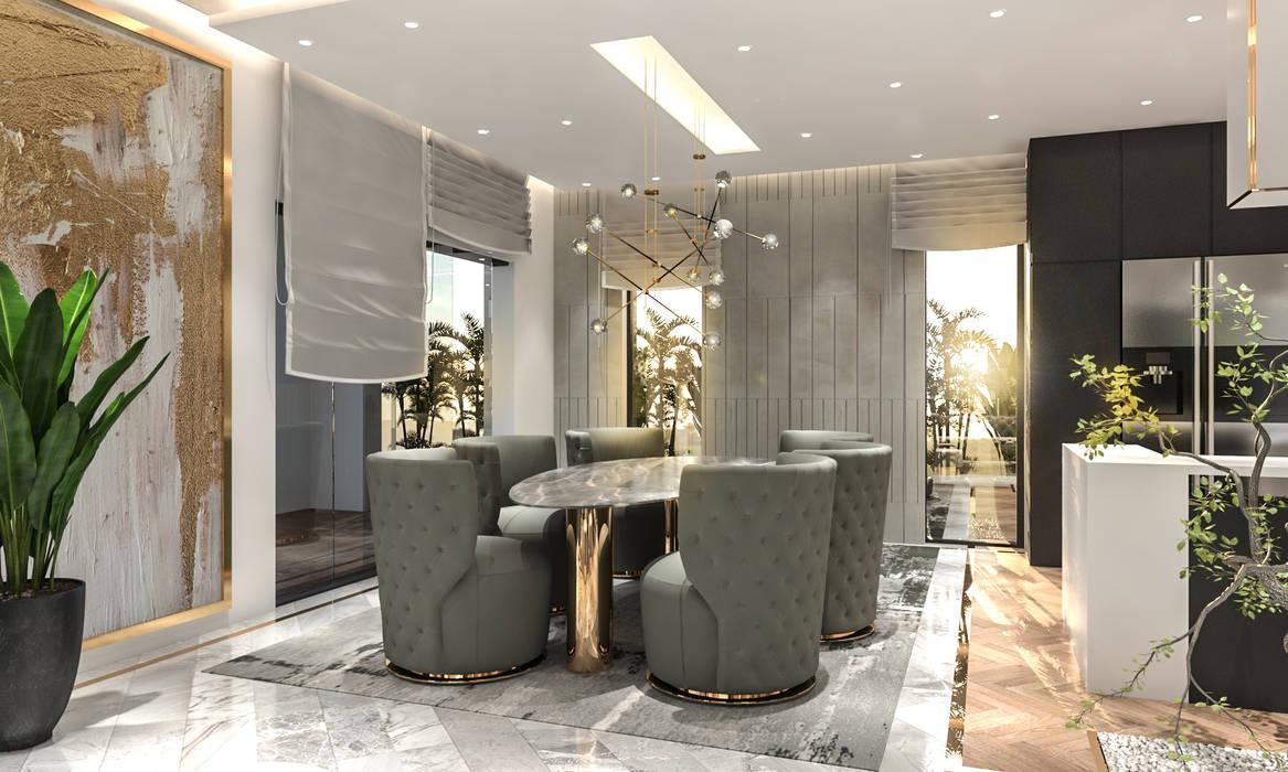 Salle à manger moderne par Saif Mourad Creations Moderne