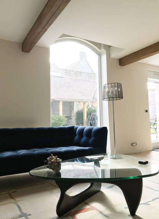 Canape Velours Bleu Nuit Salon De Style Par Chams