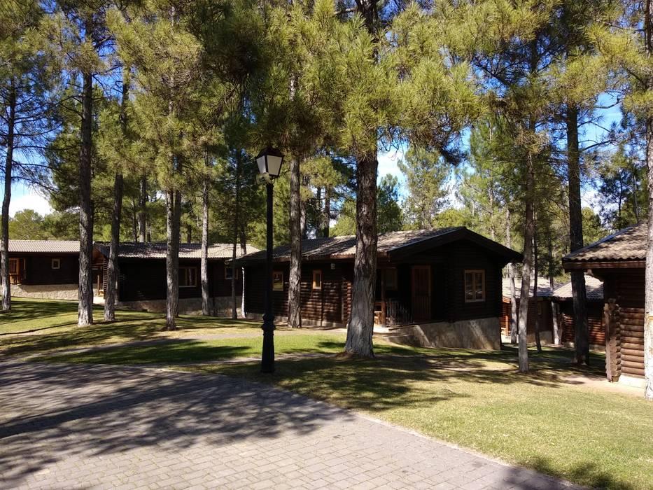 Cabañas - Bungalow para camping en Cuenca de Alfaro Arquitecto 3A3 Rural