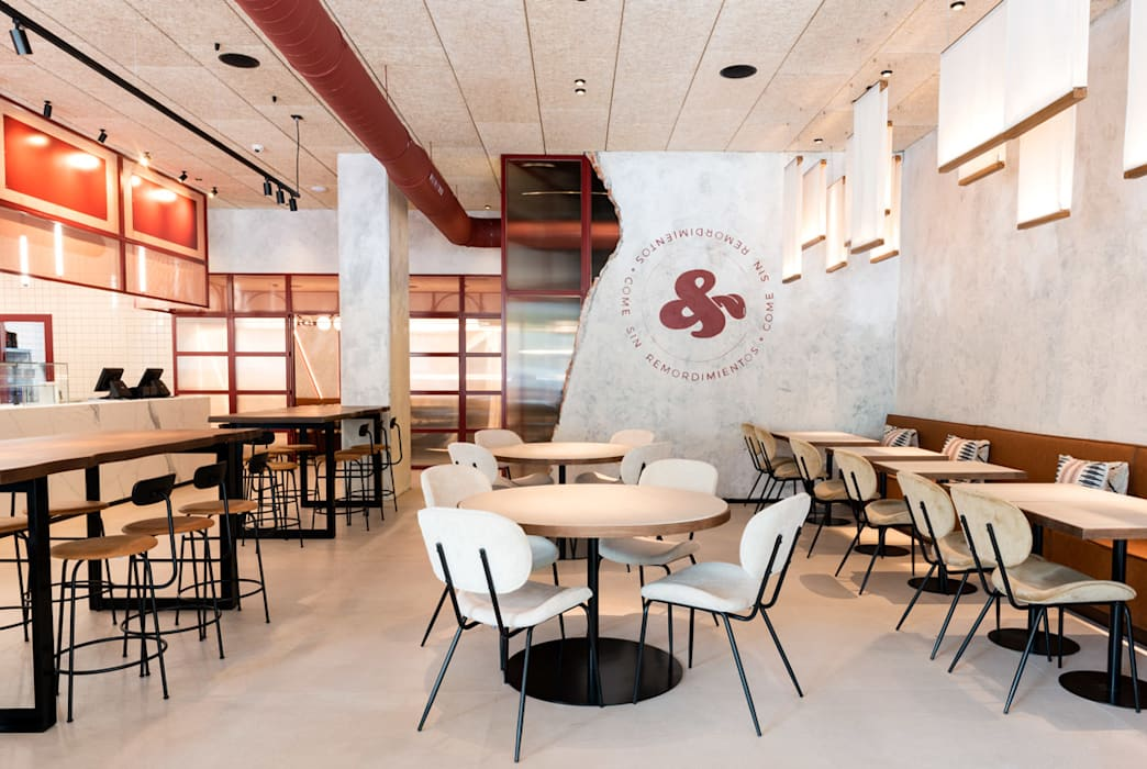Gastronomía de estilo minimalista de Takk Group Minimalista