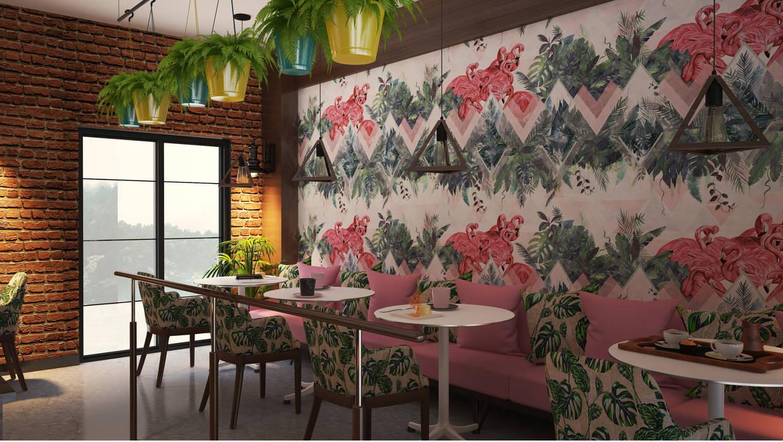 Flamingo Coffee Bar cansu kaya Modern