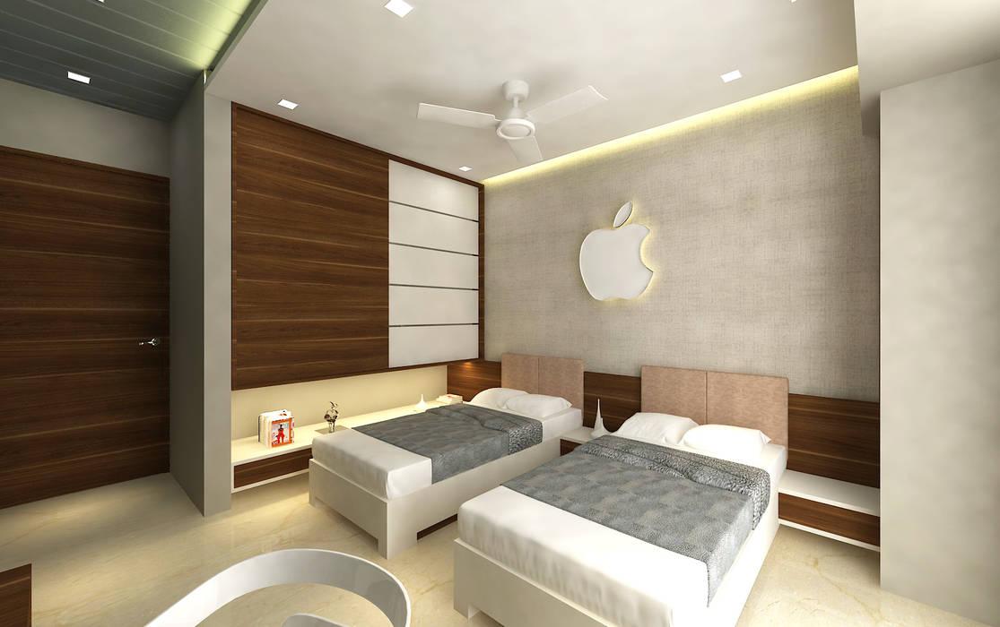 Bedroom 3 Modern style bedroom by SPACE DESIGN STUDIOS Modern