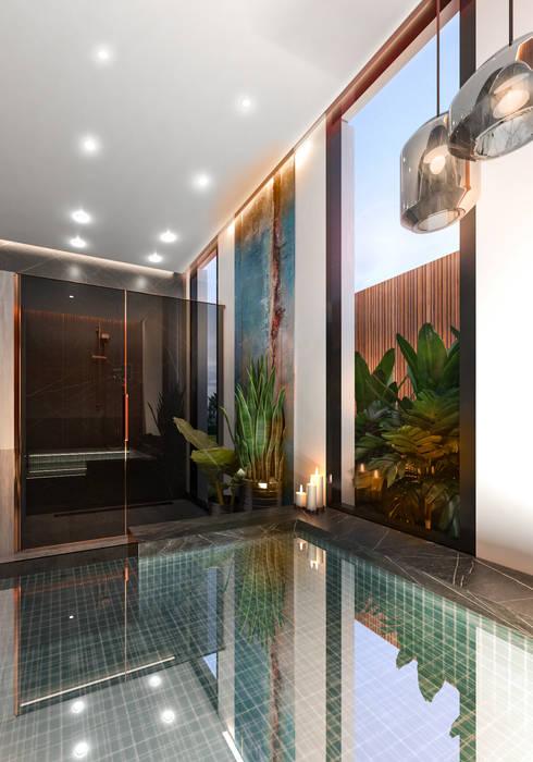 Jacuzzi Modern Spa by Saif Mourad Creations Modern