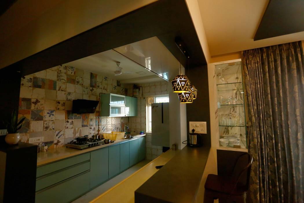 3 BHK Residential Interior Project in Ghatkopar, Mumbai by Lifeskapes Designs Asian