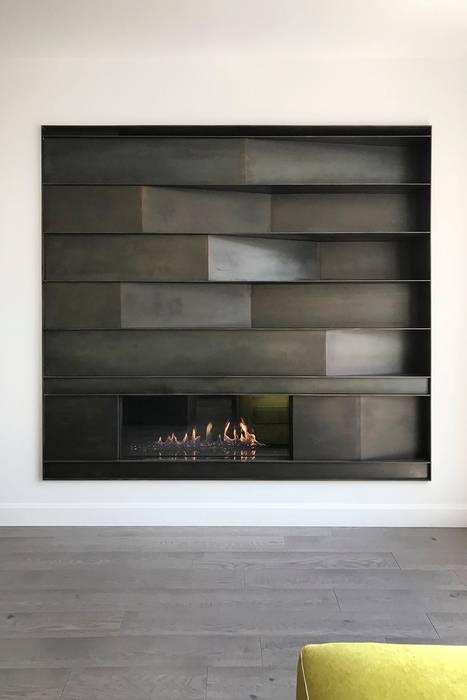 Edgehill Residence:  Living room by Zoubeir Azouz Architecture, Modern