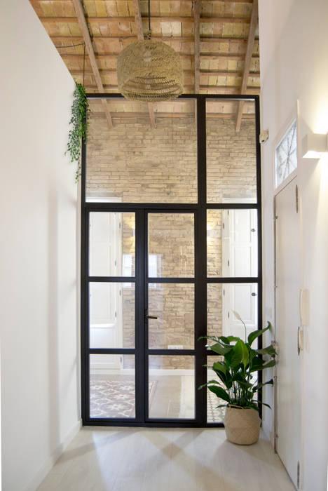 Carpintería metálica interior Puertas modernas de Volca Interiores Moderno