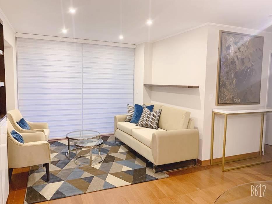 Sala Salas modernas de Shirley Palomino Moderno