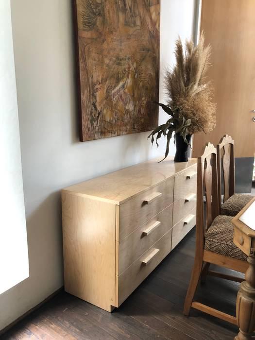 modern  by MOKALI   Carpintería Residencial, Modern Wood Wood effect
