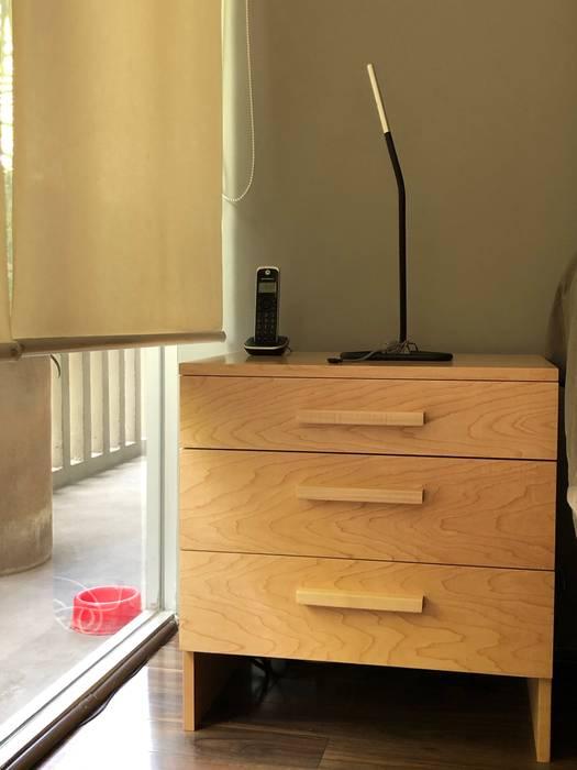 Buró. de MOKALI Carpintería Residencial Moderno Madera Acabado en madera