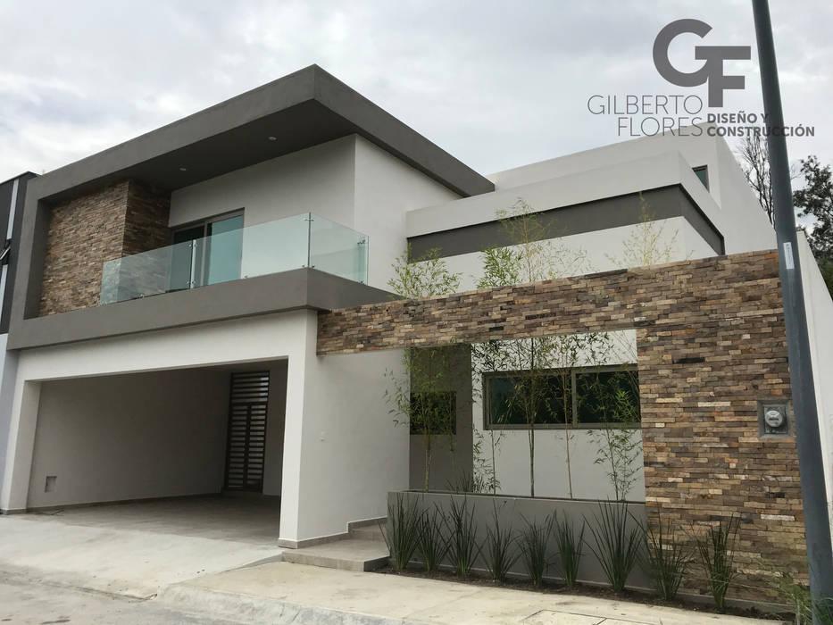 Fachada Principal de GF ARQUITECTOS Moderno Concreto reforzado